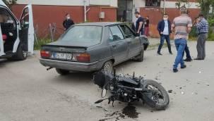 Motosiklele Araç Çarpışmasında