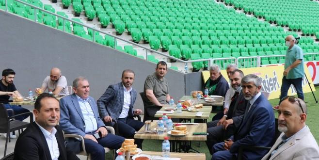 Gençlik ve Spor İl Müdürü Arif ÖZSOY Bugün Yeni stad ve Tesisleri Basına Tanıttı.