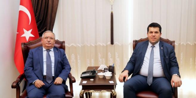 Kuzey Makedonya Cumhuriyeti Devlet Bakanı Hasan'dan Vali Nayir'e Ziyaret